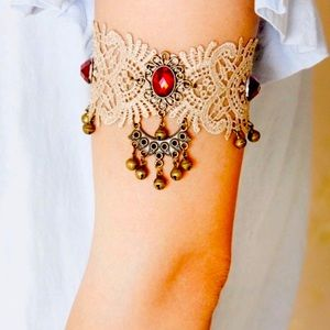 Victorian Lace Bell Arm Cuff